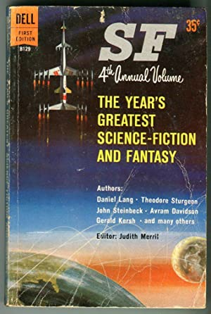 The Year's Greatest Science-Fiction and Fantasy: Fourth Annual Volume [Dell B129]