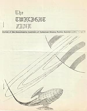 The Twilight Zine #1 (1960) (Journal of the Massachusetts Institute of Technology Science Fiction...