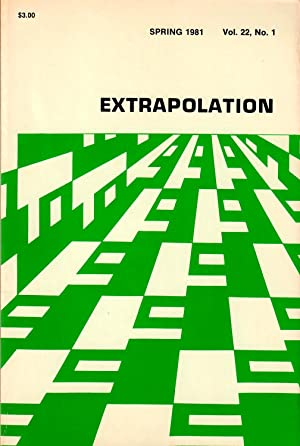 Extrapolation: A Journal of Science Fiction and Fantasy #22.1 (Spring 1981)