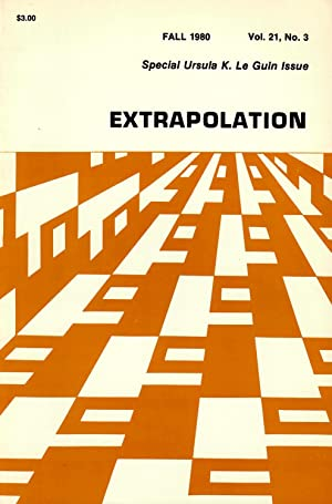Extrapolation: A Journal of Science Fiction and Fantasy #21.3 (Fall 1980) [Special Ursula K. Le G...