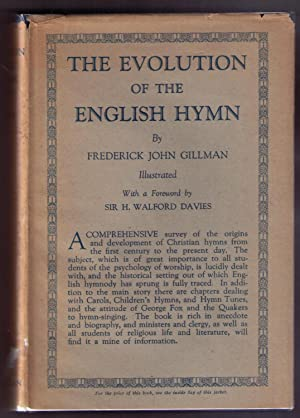 The Evolution of the English Hymn: Gillman, Frederick John