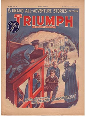 The Triumph: The Boys' Best Story Paper [a lot of 16 various issues, dated 1934-1937]