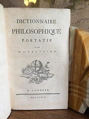 Dictionnaire philosophique portatif par Mr. de Voltaire.: Voltaire