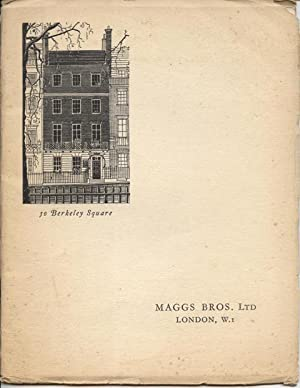 The House of Maggs, Founded 1855.: Issued with the