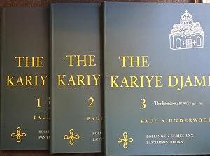 The Kariye Djami: Complete Set of 3: Underwood, Paul A.