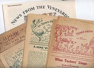 7 Items primarily related to Frank Schoonmaker, Almaden Vineyards, and Santa Clara County ...
