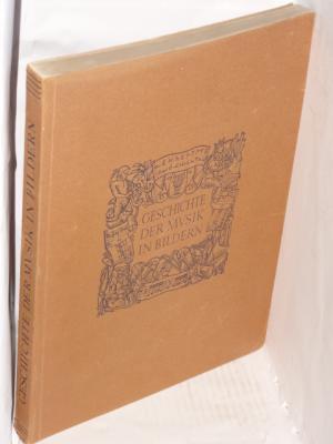 Geschichte der Musik in Bildern. Mit 1500: Kinsky, Georg (Hrgb.)