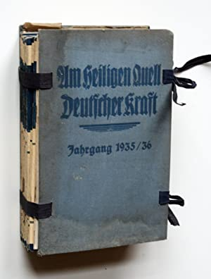 Am Heiligen Quell Deutscher Kraft. Ludendorffs Halbmonatsschrift.: Ludendorff