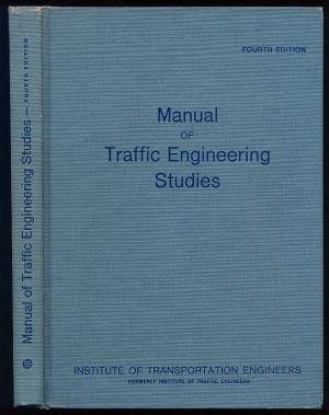 Manual of Traffic Engineering Studies: Box, Paul C.