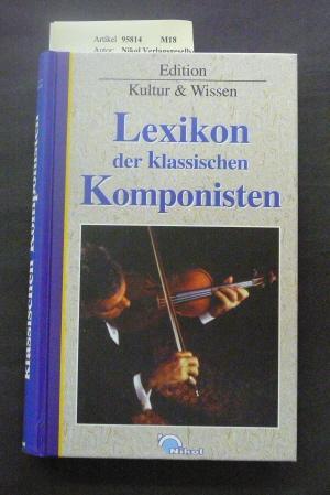 Portät-Lexikon der großen Komponisten. o.A.