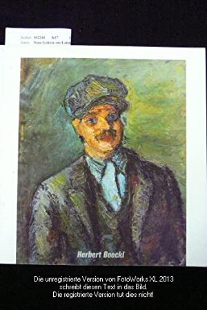 Herbert Boeckl 1894-1966 Gemälde. Graz Künstlerhaus 17.3.-16.4.: Neue Galerie am