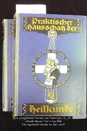 Praktischer Hausschatz der Heilkunde ( 2 Bände: Bergmann, Paul Dr.
