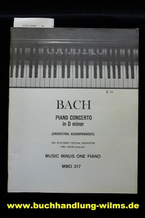 Piano Concerto in D minor. Music Minus one Piano MMO317. o.A.