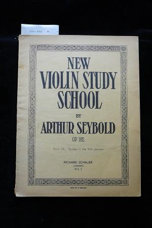 New Violin STudy School op. 182.