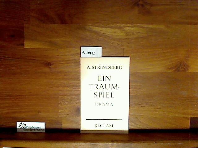 Ein Traumspiel: Strindberg, August und