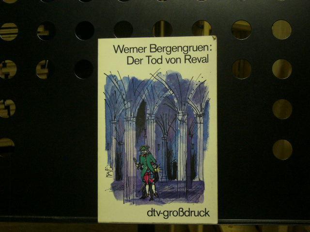 Der Tod von Reval *Grossdruck*: Bergengruen, Werner :