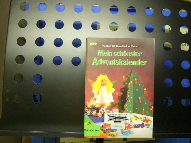 Mein schönster Adventskalender: Pfaff-Kern, Monika :
