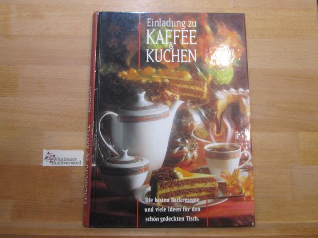 Einladung Zu Kaffee Kuchen Mosaik Verlag 9785130940655 Pappband