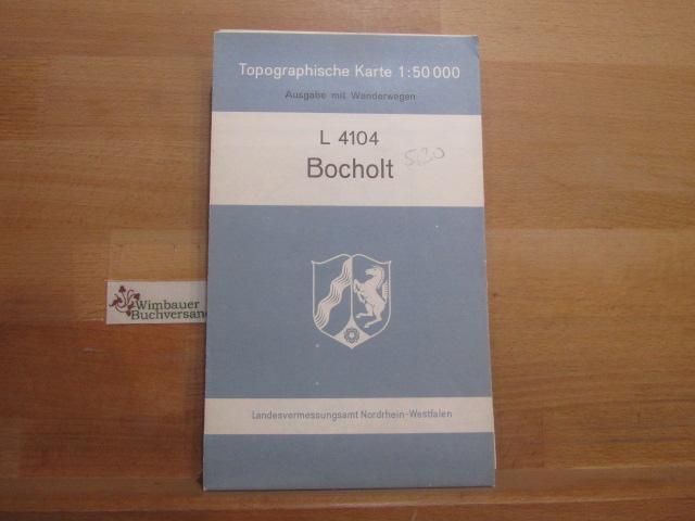 Topographische Karte Bocholt L 4104 Von Nordrhein Westfalen