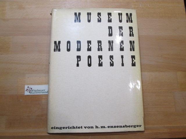 Museum Der Modernen Poesie Hans Magnus