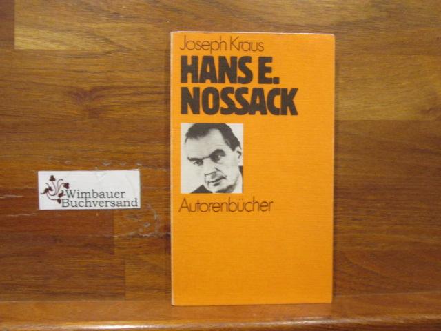 Hans Erich Nossack. Autorenbücher ; 27 - Kraus, Joseph