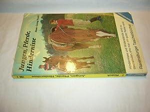 Jungen, Pferde, Hindernisse