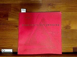 Geschichte des Dreiecks : 52 Zeichnungen, Collagen,: Kotík, Jan :