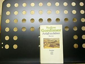 Anlaß zu lieben: Gordimer, Nadine :