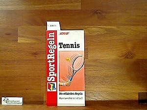 SportRegeln Tennis. Die offiziellen Regeln. Wissenswertes von A bis Z: NN :