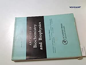 Archives of biochemistry and biophysics. Vol 142, Number 1, January 1971
