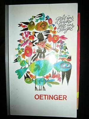 Gebt uns Bücher, gebt uns Flügel : Oetinger, Friedrich :