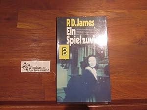 Ein Spiel zuviel : Roman.: James, P. D.