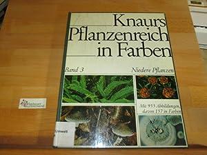 Knaurs Pflanzenreich in Farben; Teil: Bd. 3.,: Boedijn, Karel Bernard