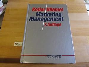 Marketing-Management : Analyse, Planung, Umsetzung und Steuerung.: Kotler, Philip und