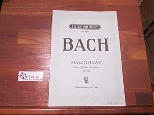 Magnificat D-dur D major - Ré majeur: Bach, Johann Sebastian