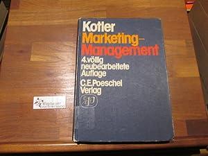 Marketing-Management; Teil: [Hauptbd.].: Kotler, Philip :
