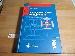 Managementwissen für Ingenieure. VDI Karriere: Schwab, Adolf J.