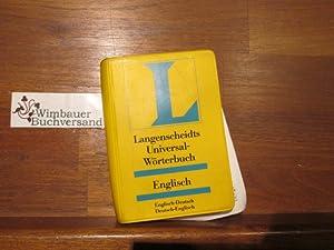 Langenscheidts Universal-Wörterbuch Englisch : englisch-deutsch, deutsch-englisch. [bearb.: Freese, Holger (Bearb.)
