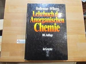 Lehrbuch der anorganischen Chemie. Holleman-Wiberg. Begr. von: Holleman, Arnold F.,