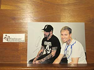 Original Autograph Backstreet Boys A.J. and Brian Signes Handsigned Photograph