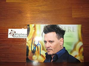 Johnny Depp // Autogramm Autograph signiert signed signee