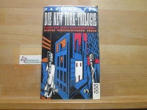 Die New-York-Trilogie. Dt. von Joachim A. Frank: Auster, Paul :