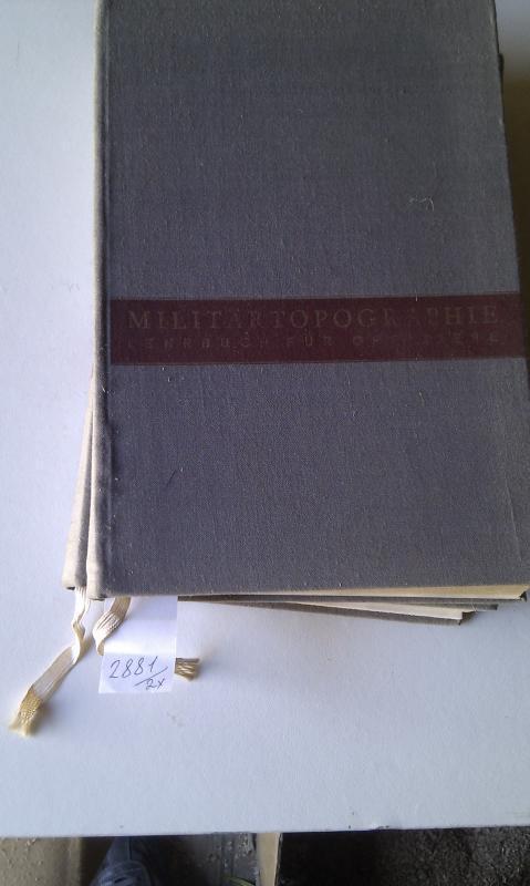 Militärtopographie (Lerbuch für Offiziere): Autorkol Ewert Hans-Ludwig,