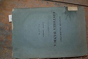 Saxonis Grammatici Historia Danica Partes Prioris Volumen: Müller Dr Petrus