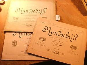 Die Rundschrift 3 Hefte 2 Teile (v.: Soennecken F