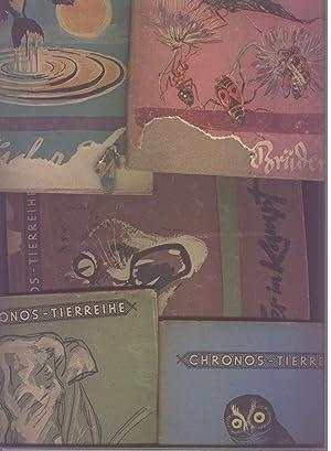 4 Hefte Chronos Tierreihe: Tier im Kampf
