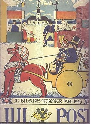 Julpost 1943 Jubileumsnummer 1924-1943