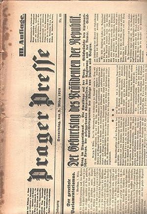 Prager Presse Nr. 13 (13. Januar) und