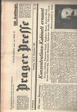 Prager Presse Nr. 333