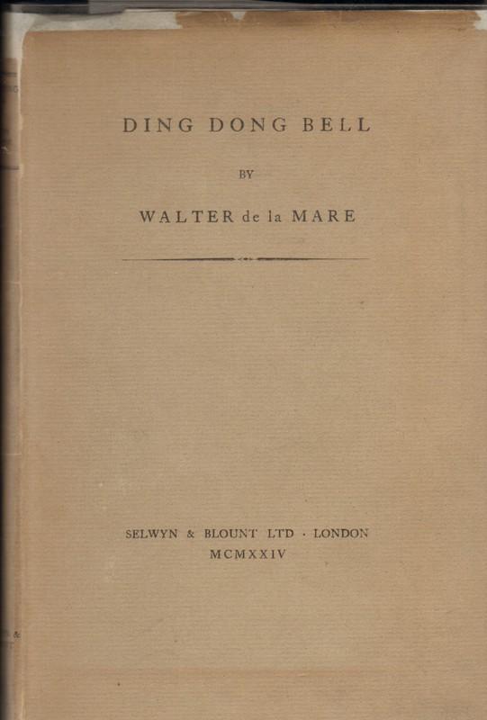 DING DONG BELL de la Mare, Walter